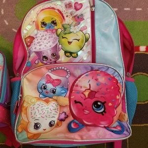 Shopkins Backpack and Lunchbox